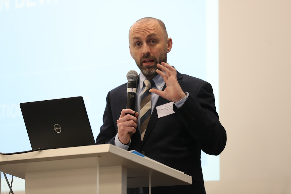 John Devitt, Chief Executive, Transparency International Ireland